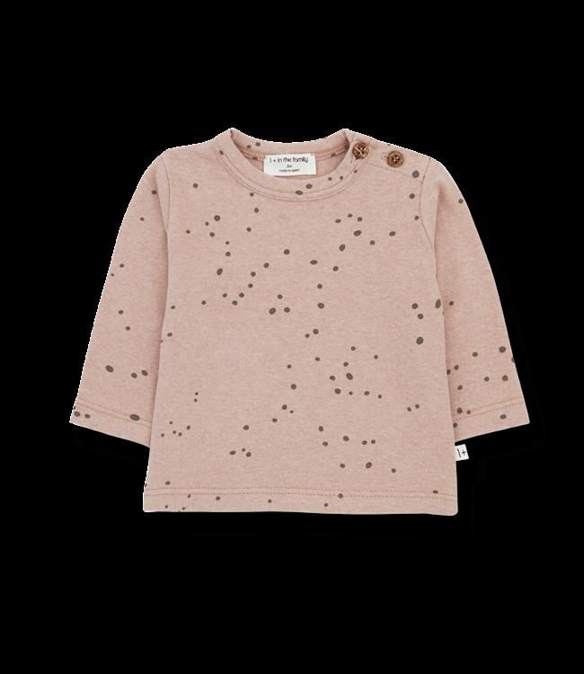 1+inthefamily Mae t-shirt - rose