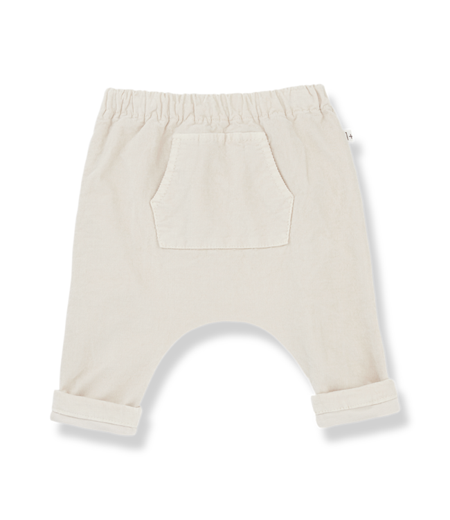 1+inthefamily Genis baggy pants - alabaster