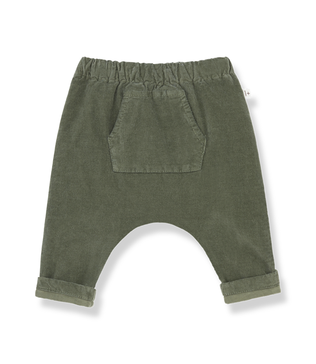 1+inthefamily Genis baggy pants - olive