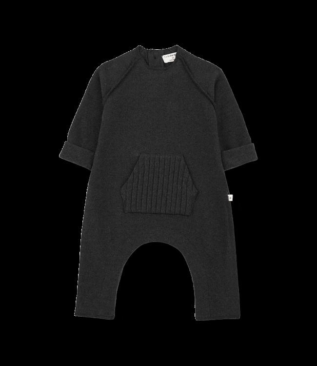 1+inthefamily Manel jumpsuit - charcoal