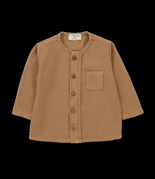 1+inthefamily Custo shirt - brandy