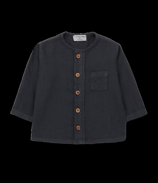 1+inthefamily Custo shirt - charcoal