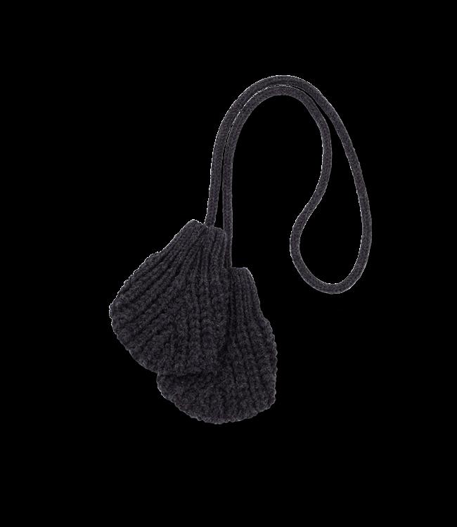 1+inthefamily Leda baby mittens - charcoal