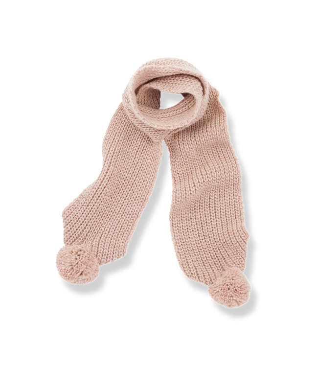 1+inthefamily Clyde baby scarf - rose
