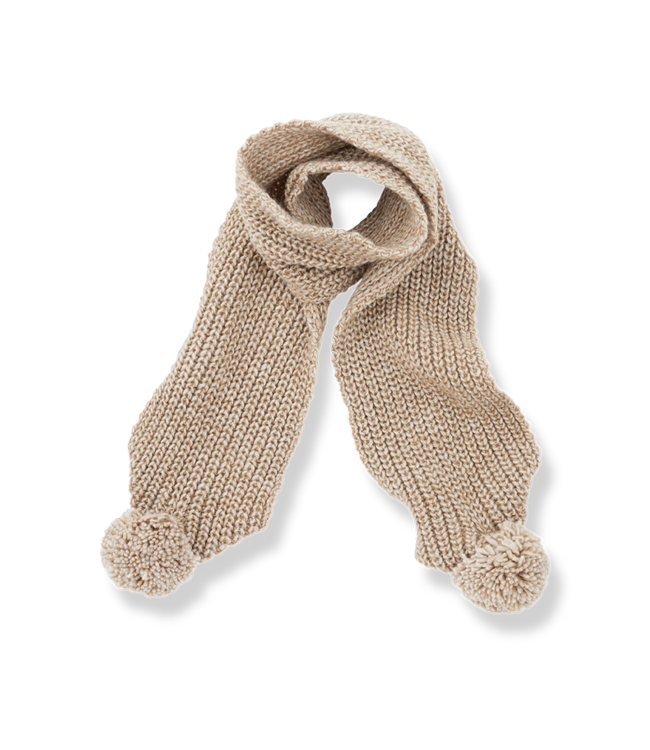 1+inthefamily Clyde baby scarf - beige