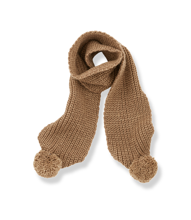 1+inthefamily Clyde baby scarf - brandy