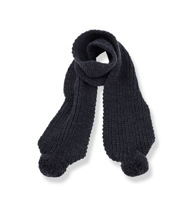 Clyde baby scarf - charcoal