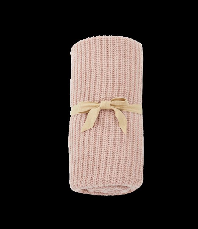 1+inthefamily Sarai baby blanket - rose