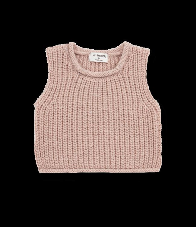 1+inthefamily Gabriel baby vest - rose