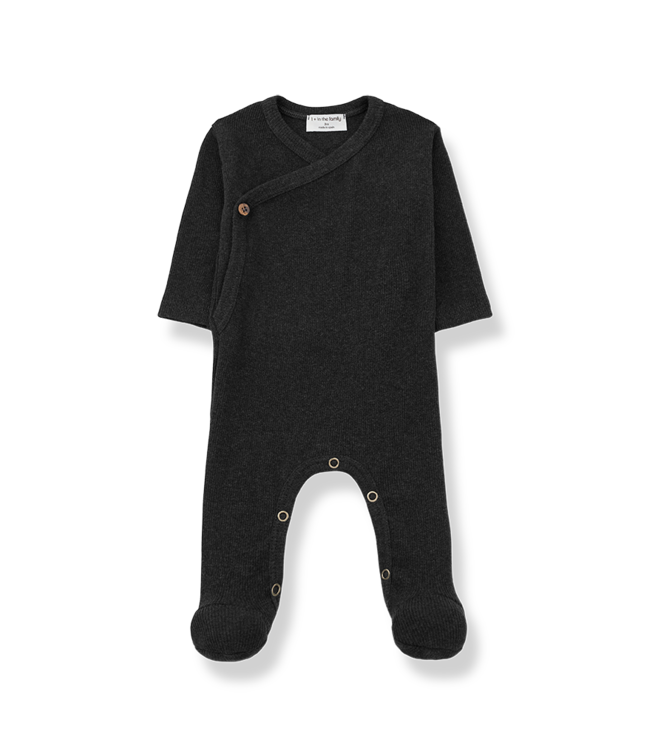 Caterina jumpsuit - charcoal