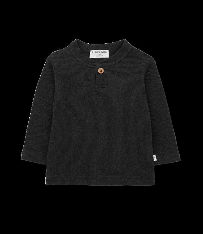 1+inthefamily Elmo t-shirt - charcoal