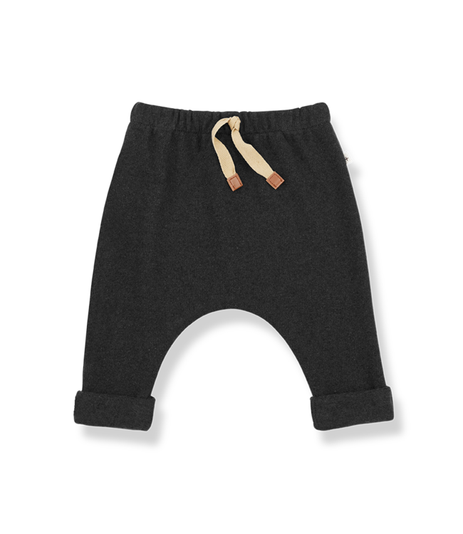 1+inthefamily Yves baby baggy pants - charcoal