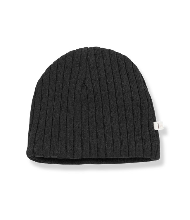 1+inthefamily Nick reversible beanie - charcoal