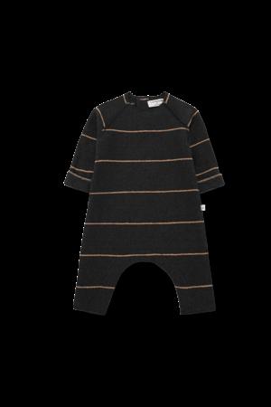 1+inthefamily Laurent baby jumpsuit - charcoal