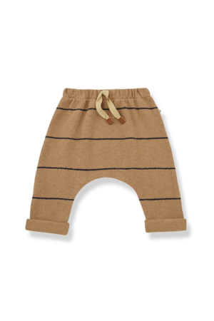 1+inthefamily Charles baby baggy pants - brandy