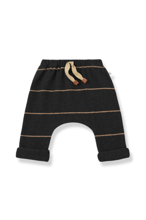1+inthefamily Charles baby baggy pants - charcoal