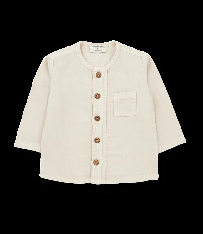 1+inthefamily Custo shirt - alabaster