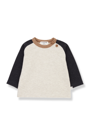1+inthefamily Guim t-shirt - charcoal
