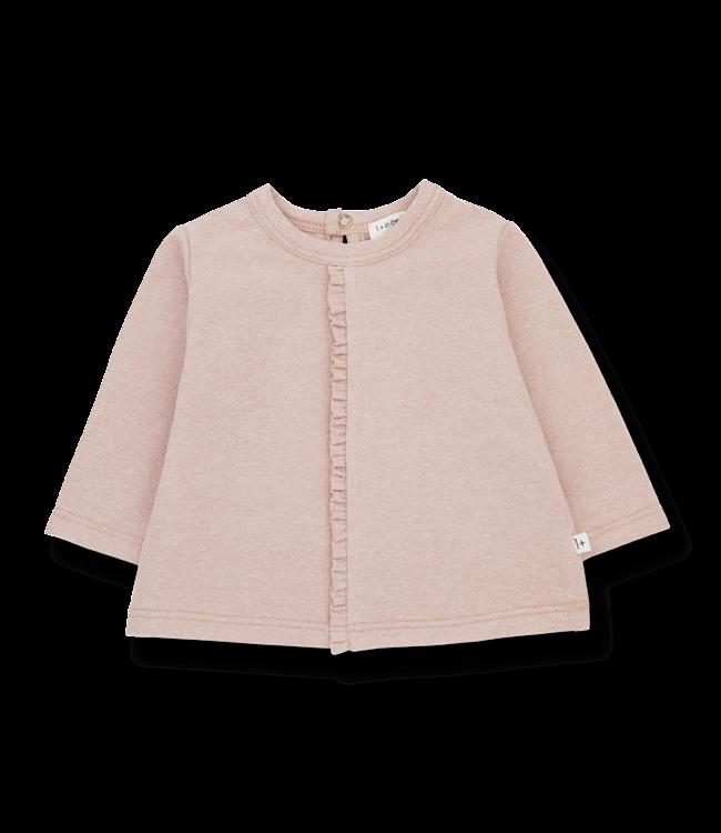 1+inthefamily Dalia girly t-shirt - rose