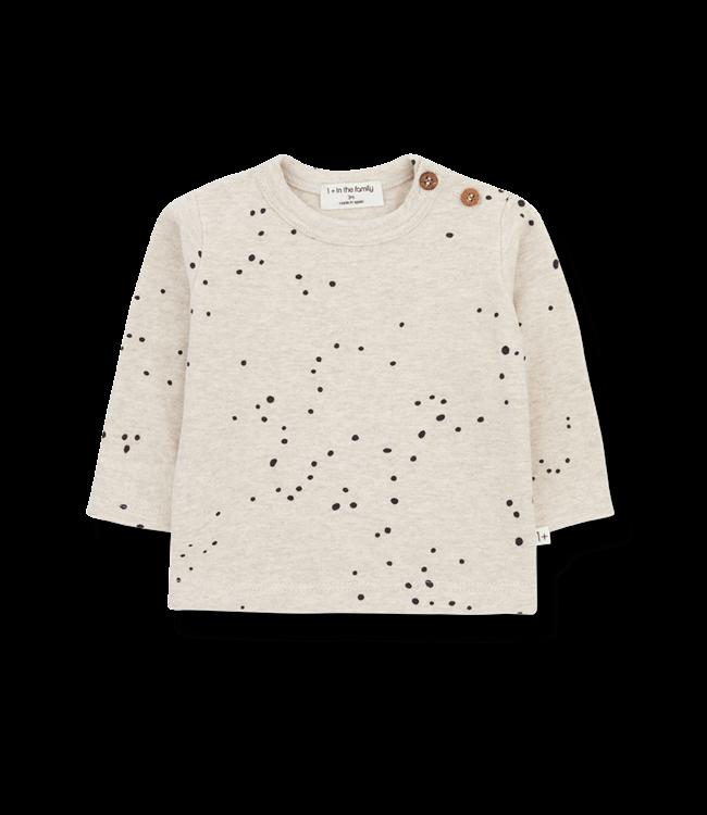 1+inthefamily Mae t-shirt - alabaster