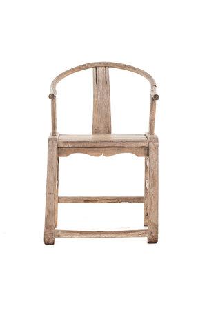 Authentieke 'horseshoe chair'