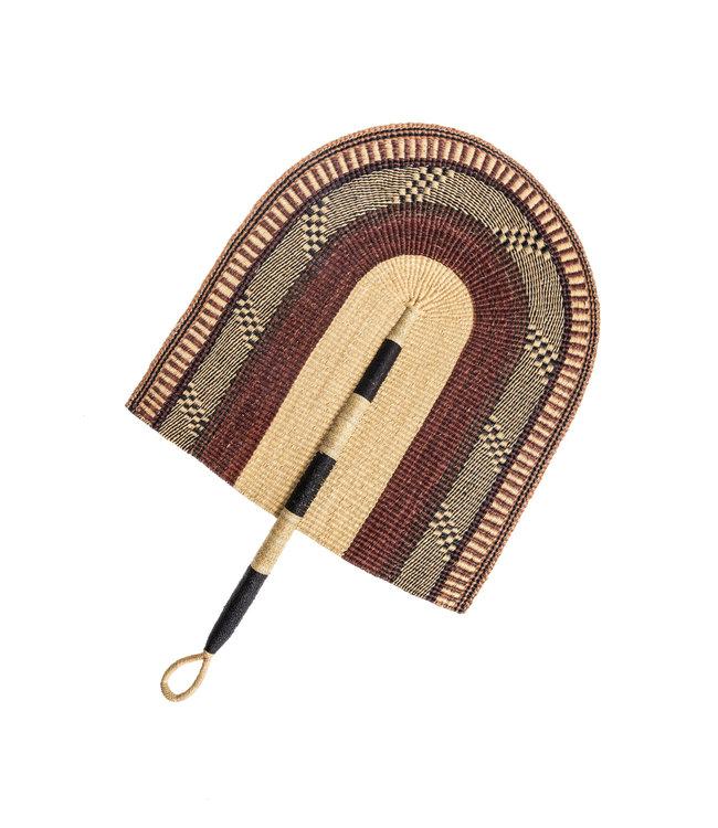 Brown fan XL