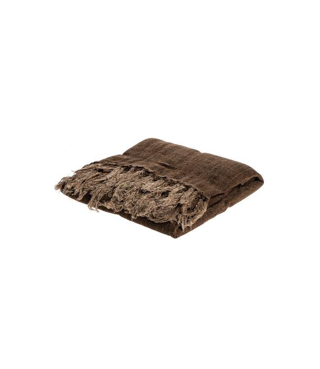 Margaux blanket - cinnamon