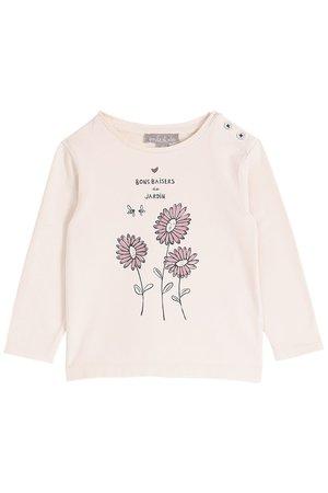 Emile et ida Tee shirt - coquille jardin