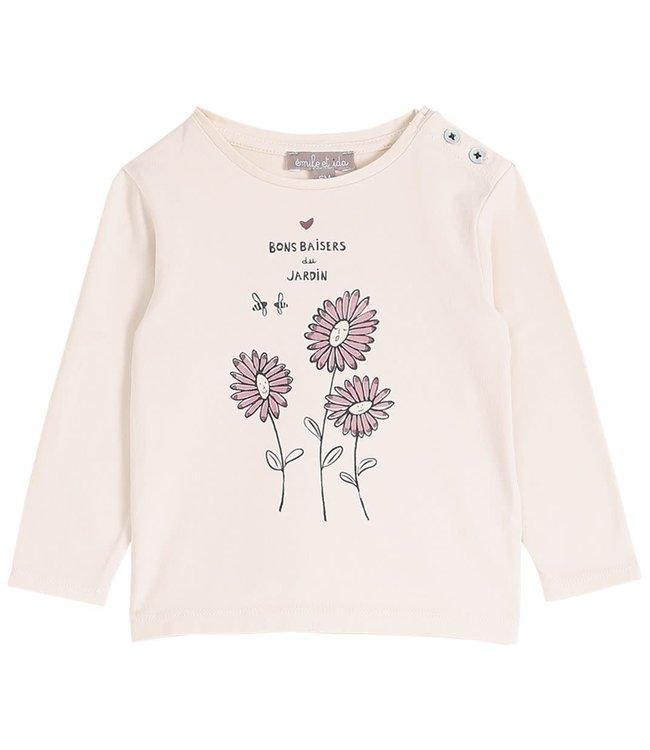 Tee shirt - coquille jardin