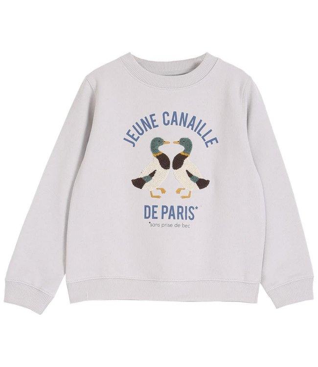 Sweatshirt canaille - brume