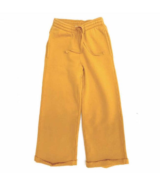 Sweatpants - mineral yellow