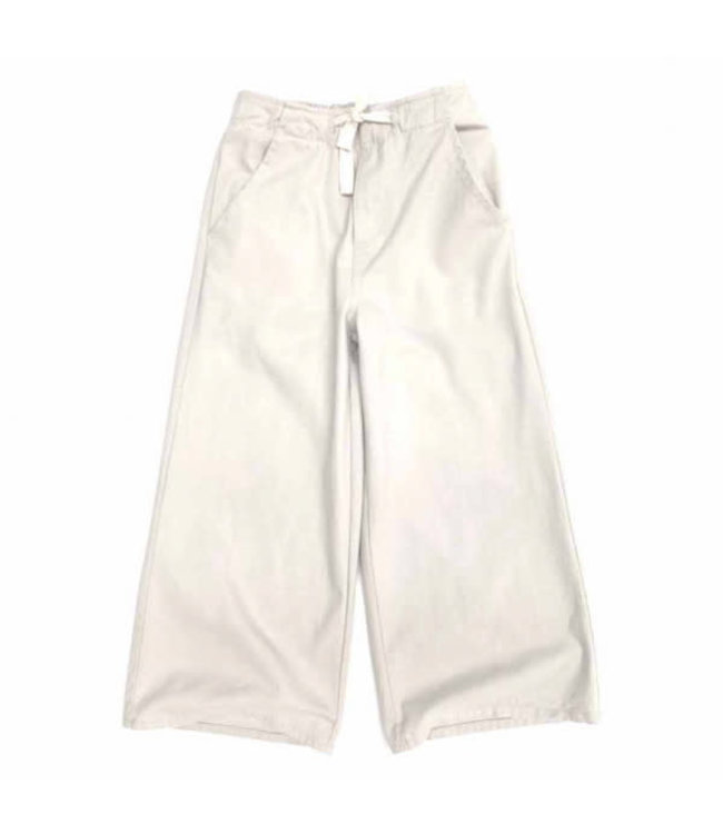 Long Live The Queen Wide leg jeans - natural