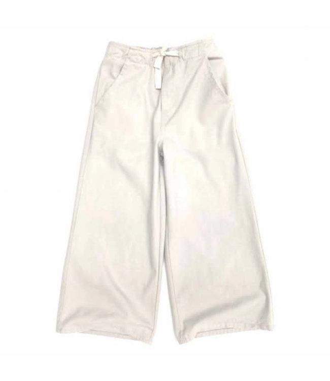 Wide leg jeans - natural