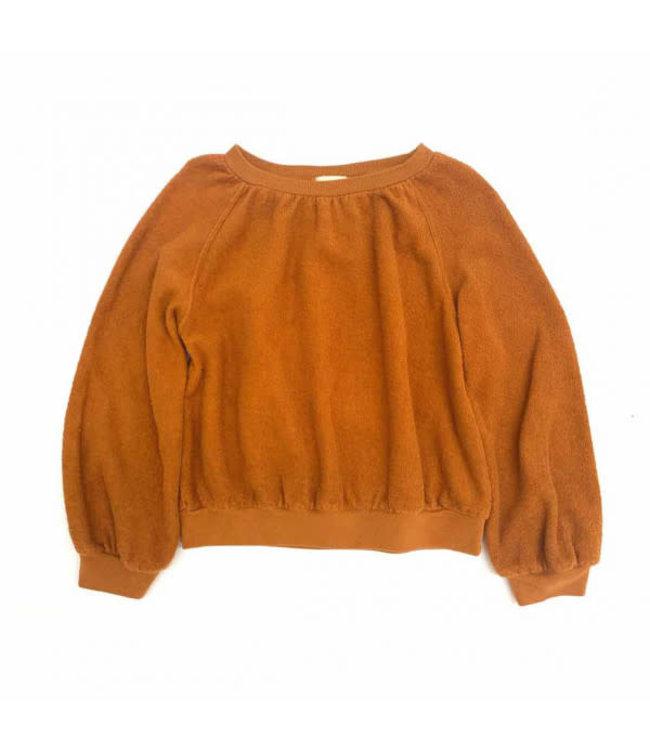 Terry sweater - dessert