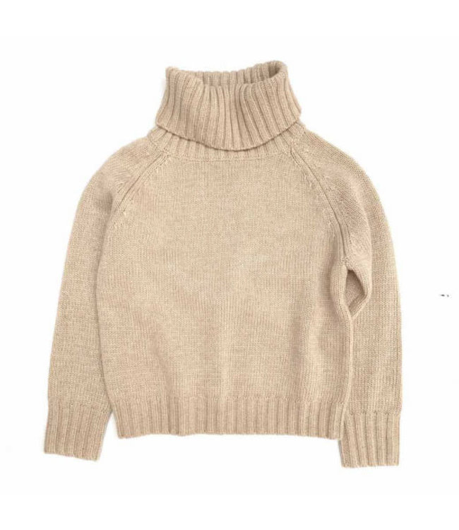 Long Live The Queen Sweater with coll - sand