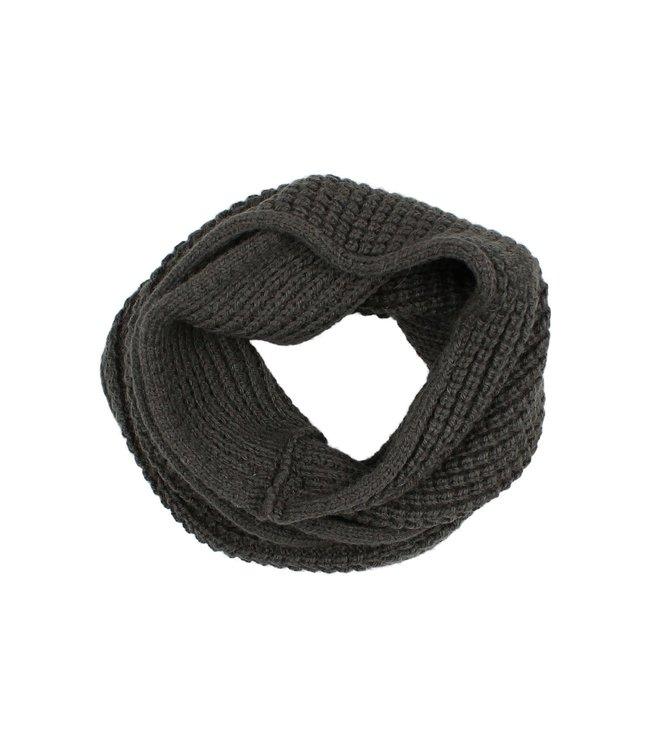 Soft knit buff - antracite