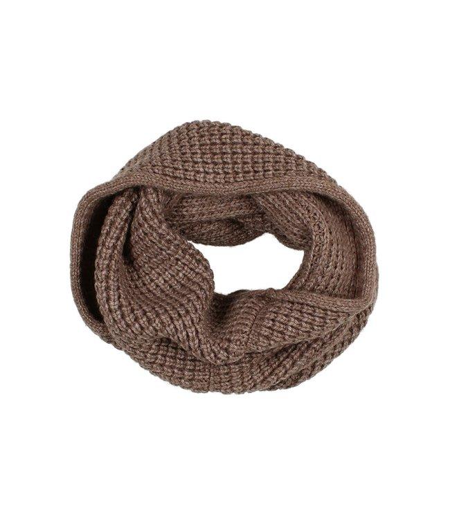 Soft knit buff - wood