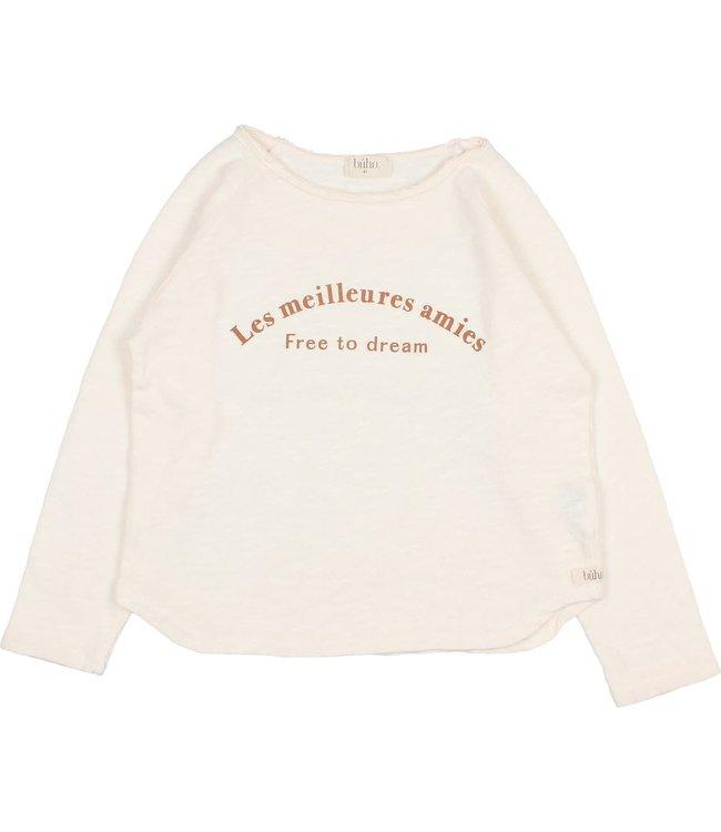Buho Les amies t-shirt - milk