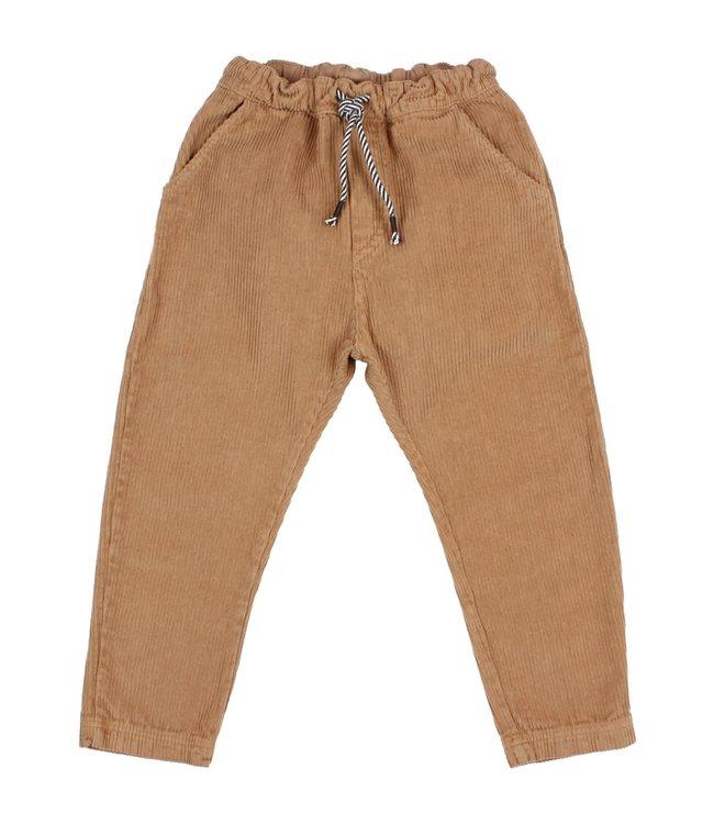 Corduroy pants - muscade