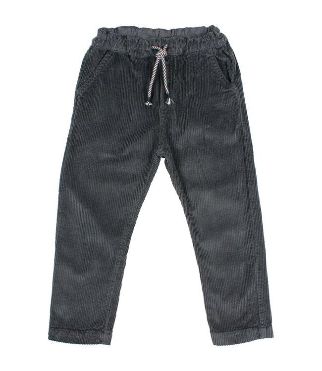 Corduroy pants - antracite