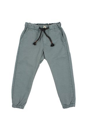 Buho Everyday fit pants - north sea