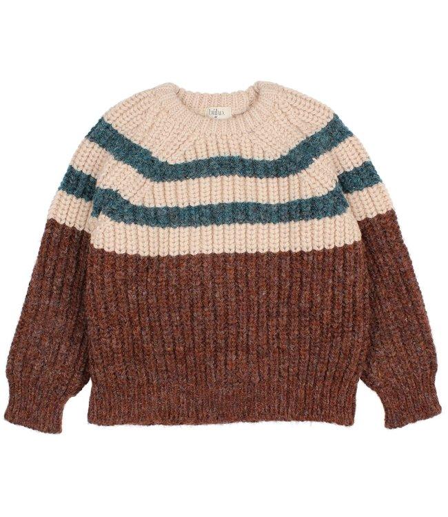 Stripes knit jumper - only