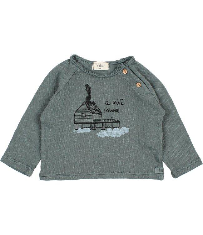 Buho Cabane t-shirt - north sea