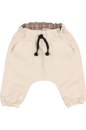 Buho Baby front pockets pants - stone