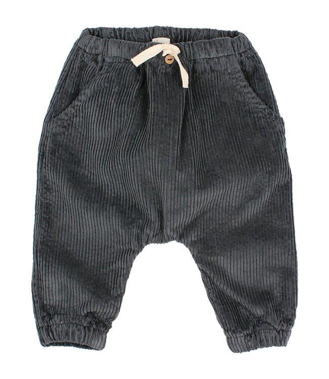 Buho Baby corduroy pants - antracite