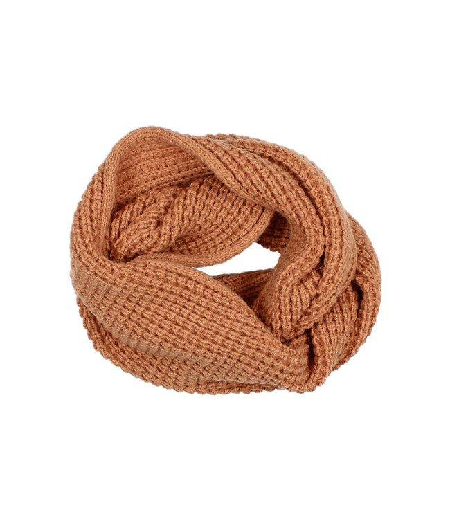 Soft knit buff - hazel