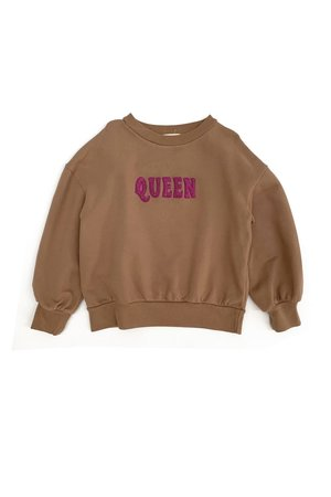 Long Live The Queen Sweater - coconut