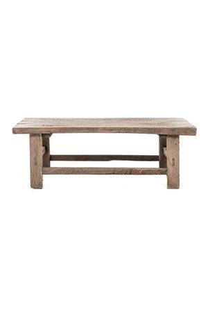 Small coffee table elm - L102 cm
