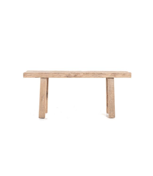 Short bench, elm #20 - L112 cm