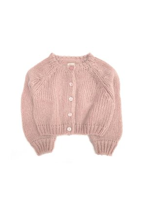 Long Live The Queen Cardigan - old rose